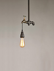 1 Lights Vintage Industrial Simple Loft Metal Pendant Lights Living Room Dining Room Kitchen Cafe Light Fixture