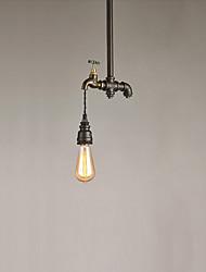 Lampe suspendue ,  Traditionnel/Classique Rustique Retro Rétro Peintures Fonctionnalité for Style mini MétalSalle de séjour Chambre à