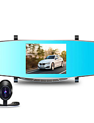 5 Inch Bright Super Large Display L106 Before And After HD Video Recorder 170 Degree Wide-Angle Night Vision