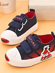 Unisex Sneakers Fall Comfort Canvas Casual Flat Heel Animal Print Black Blue Red Walking