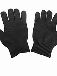 luvas resistentes ao corte profissional protetor preto