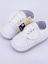 Unisex Flats Spring / Fall Flats Canvas Casual Flat Heel Others Green / White Others