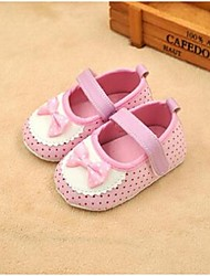 Girl's Flats Spring / Fall Flats Canvas Casual Flat Heel Bowknot Blue / Pink Others