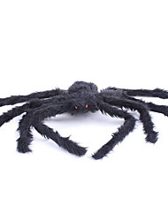 Halloween Props Spider Festival/Holiday Halloween Costumes Black Solid More Accessories Halloween Unisex Velvet