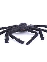 Pour Halloween Araignée Fête / Célébration Déguisement Halloween Noir Couleur Pleine Plus d'accessoires Halloween Unisexe Velours