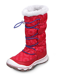 Brand Outlets Girl's Boots Fall / Winter Fashion Boots / Round Toe PU / Nylon Casual Flat Heel Gore Red Snow Boots