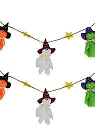 fantômes guirlande de halloween bruant des décorations de halloween fantômes mur maison pendaison décoration