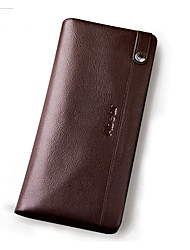 Men Cowhide Professioanl Use / Shopping Wallet