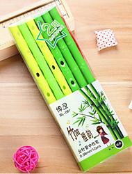 12 PCS Flute Black Ink Gel Pen