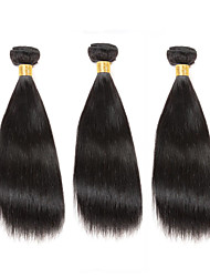 Pas cher 8-12 po poils vierges pas cher 3bundles 150g brins brutes 100% cheveux bruns