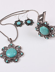 MOGE Ms. European And American Fashion Jewelry Sets / Necklace / Earrings / Bracelet