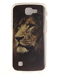 Para Capinha LG IMD / Estampada Capinha Capa Traseira Capinha Animal Macia TPU LG LG K10 / LG K8 / LG K7 / LG K4