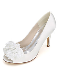 Women's Heels Spring / Summer / Fall Heels / Peep Toe Leatherette Wedding / Party & Evening