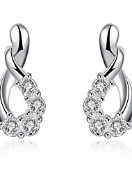 May Polly  European fashion Diamond Earrings