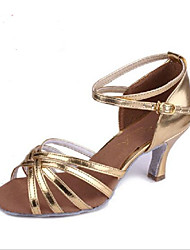 Women's Leather Silver Brown Golden