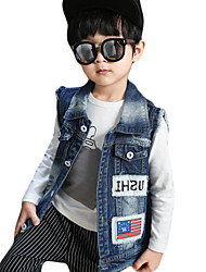 Boy's Casual/Daily Print Jeans,Others Summer / Fall Blue