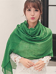 Solid Candy Colors Cotton Scarf Autumn And Winter Long Oversized Shawl Scarves