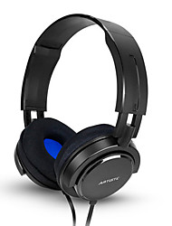 ARTISTE AWP3000A Noise Isolating Bass Professional HIFI DJ Studio Monitoring Rotated Wired Computer Headset Headphones