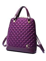 Women PU / Nylon Casual / Outdoor / Shopping Backpack Purple / Blue / Black