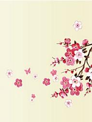 Sakura Flower Bedroom Vinyl Decal Art Decor Wall Sticker 45*60CM (Small-45*60CM) Pink, 45cm
