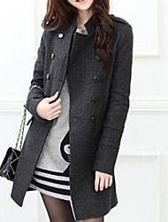 Тейлор женщин корейский твид пальто