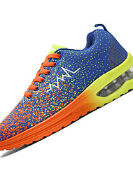 Men's Sneakers Spring / Fall Comfort Fabric Casual Flat Heel  Blue / Green / Red Sneaker