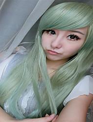 hohe Art und Weise Frauen Haar Drag Queen Perücken Harajuku ombre Pastell mintgrün Perücke hitzebeständige synthetische