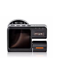 vision nocturne infrarouge conduite / enregistreur HD 1080p à double lentille lecteur enregistreur