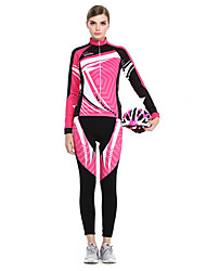 Sports Cycling Jersey with Tights Women's Long Sleeve Bike Breathable / Quick Dry / Sunscreen Clothing Sets/Suits Coolmax Classic Summer