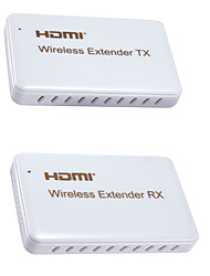 Wireless HDMI Extender 30meter One Pair Transmitter Receiver White color for Home Office Class Room Metting Room