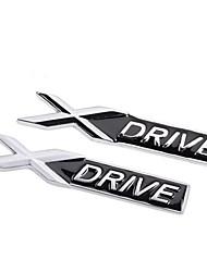 kirsite logo xdrive remorque autocollant de voiture modifiée