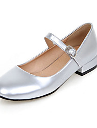 Women's Flats Spring / Summer / Fall Comfort Patent Leather Wedding / Party & Evening / Dress /  Flat Heel OthersBlack