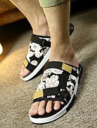 Men's Slippers & Flip-Flops Summer Slippers / Open Toe Canvas Casual Flat Heel Flower