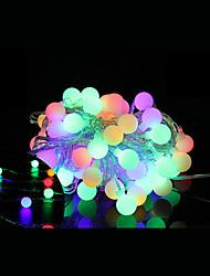 5m wasserdichte Stecker im Freienweihnachtsfeiertagsdekoration Licht LED-String-Licht (220 V) 40-LED