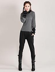 Pantalon Aux femmes Slim Chic de Rue Polyester / Spandex Elastique