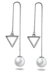 S925 Silver Pearl Earring