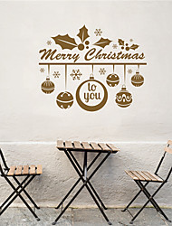 AYA DIY Wall Stickers Wall Decals Christmas Festival Merry Chritmas to You Style PVC Stickers 55*68cm