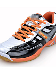 Men's Athletic Shoes Fall Comfort Tulle Outdoor Platform Lace-up Blue / Red / Orange Tennis / Badminton