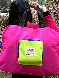 Viaje Monedero de Viaje Almacenamiento para Viaje Tejido Azul / Rojo / Rosa Other
