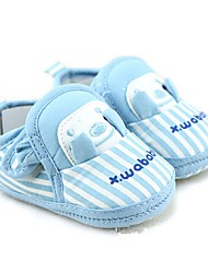 Unisex Loafers & Slip-Ons Fall Crib Shoes Cotton Casual Flat Heel Slip-on Blue Walking