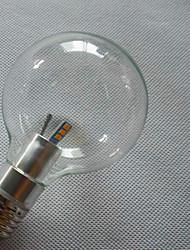 6 E26/E27 Ampoules Globe LED G80 6 SMD 3528 800 lm Blanc Chaud / Blanc Froid Décorative AC 100-240 V 1 pièce
