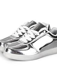 Unisexe-Extérieure / Décontracté / Sport-Argent / Or-Talon Plat-Confort-Sneakers-Synthétique