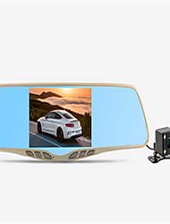 ling grados registrador de conducción hs880c espejo de doble lente gran pantalla de 5 pulgadas con