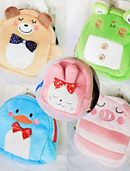 Dog Backpack Green / Blue / Brown / Pink Cute Cartoon Pet Bag Plush Fabric Summer / Spring/Fall