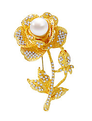 /Brooches/Fashionable/Silver/Golden/Personality/Women