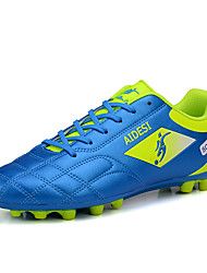 Men's Soccer Shoes Spring / Summer / Fall / Winter PU Leather Sport  Outdoor / Black / Blue / Green / Red