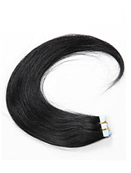 On Sale #1 Tape In Skin Human Hair Extensions Human Hair 16inch-24inch Hair Weft No Tangle No Shed