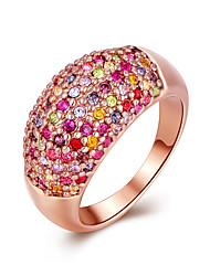AnéisCaixas de presente e Bolsas / Estilo / Sexy / Fashion Casamento / Pesta / Diário Jóias Chapeado Dourado Feminino 8 1conjunto,Anéis