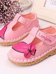 Sneakers Fall Comfort Light Up Shoes Canvas Casual Flat Heel Lace-up Pink Red Other