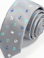 Men's Acrylic Neck Tie,Party Work Casual Print All Seasons